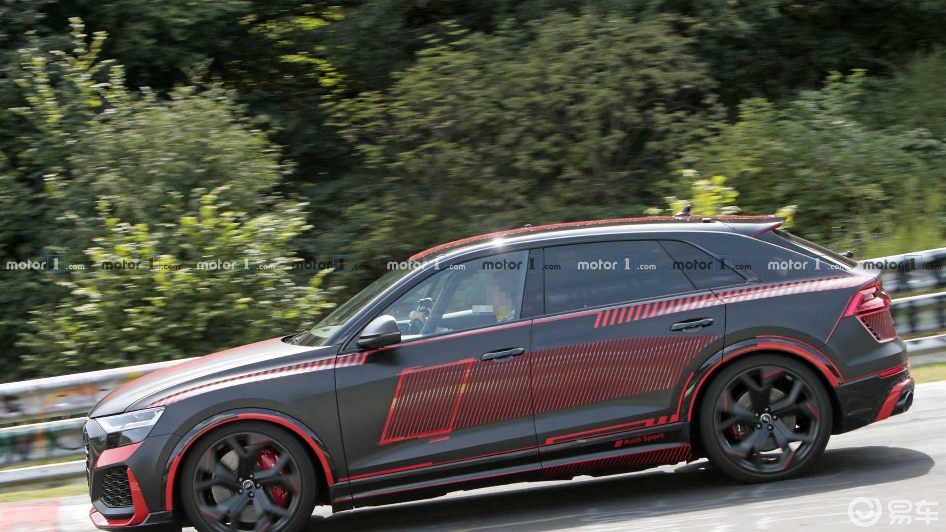 奥迪RS Q8打破了纽博格林SUV圈数纪录